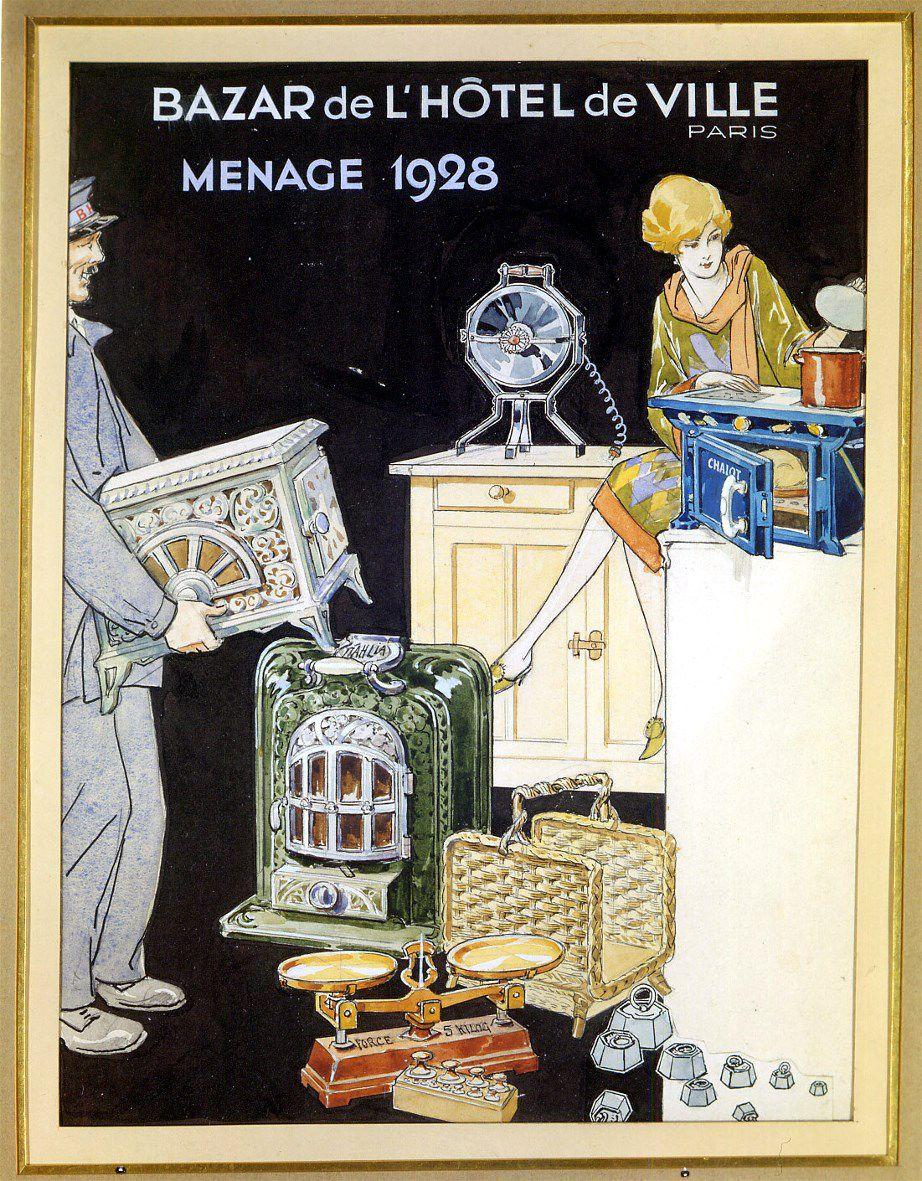 Mémoires : Le BHV à travers l'Histoire n°42  en 1928