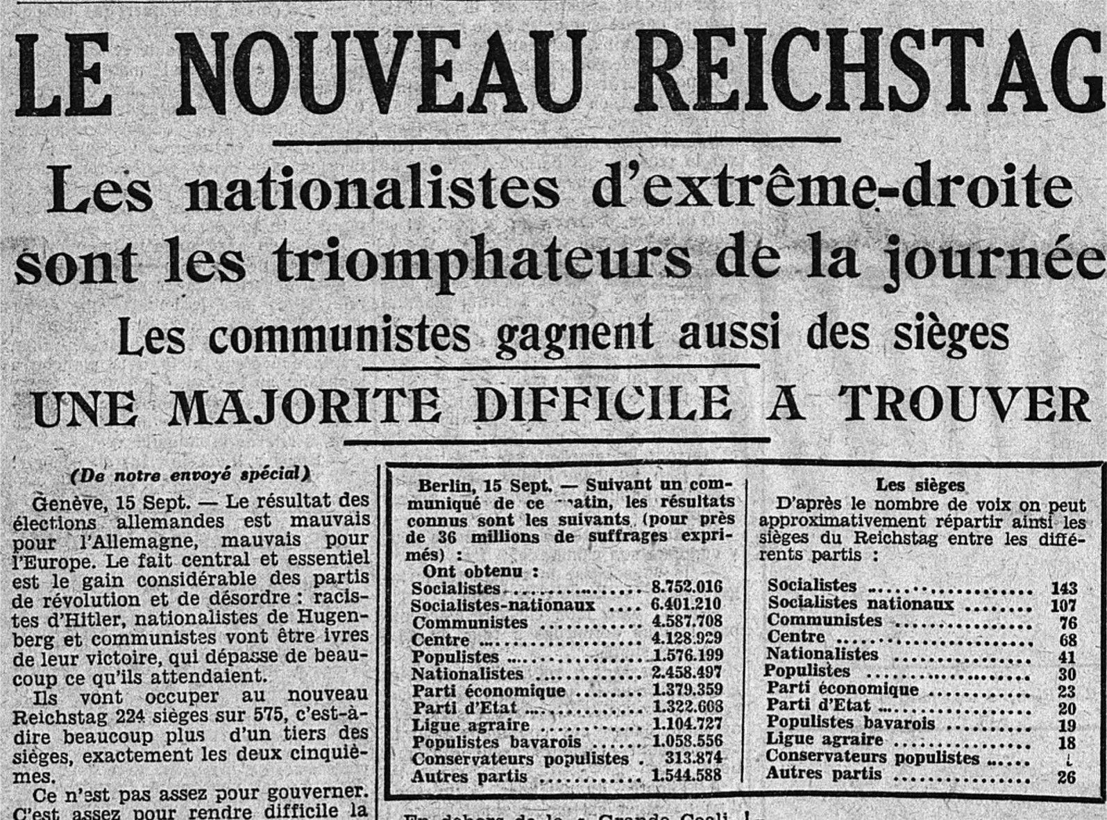Mémoires : Le BHV à travers l'Histoire n°45   en 1930