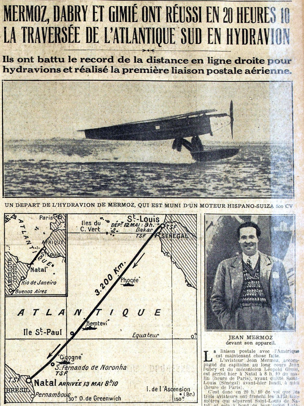 Excelsior 14 mai 1930