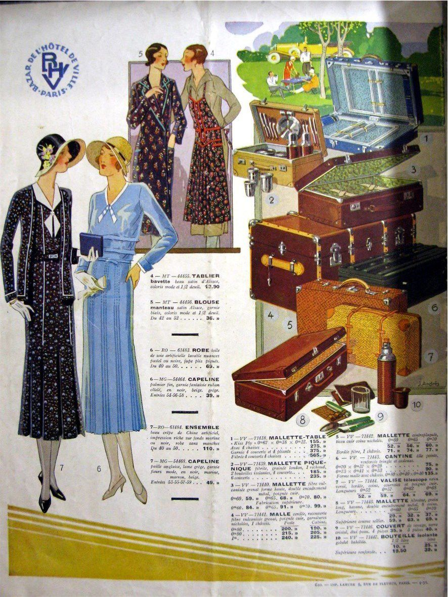 Catalogue BHV 1931
