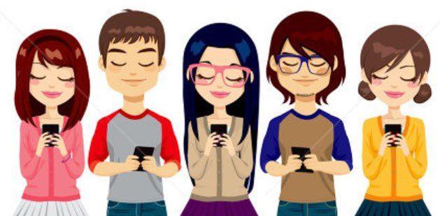 Taper un SMS sur son téléphone portable