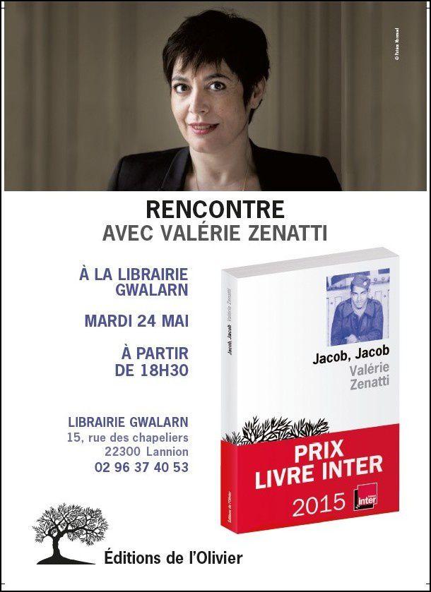 Rencontre avec Valérie Zenatti