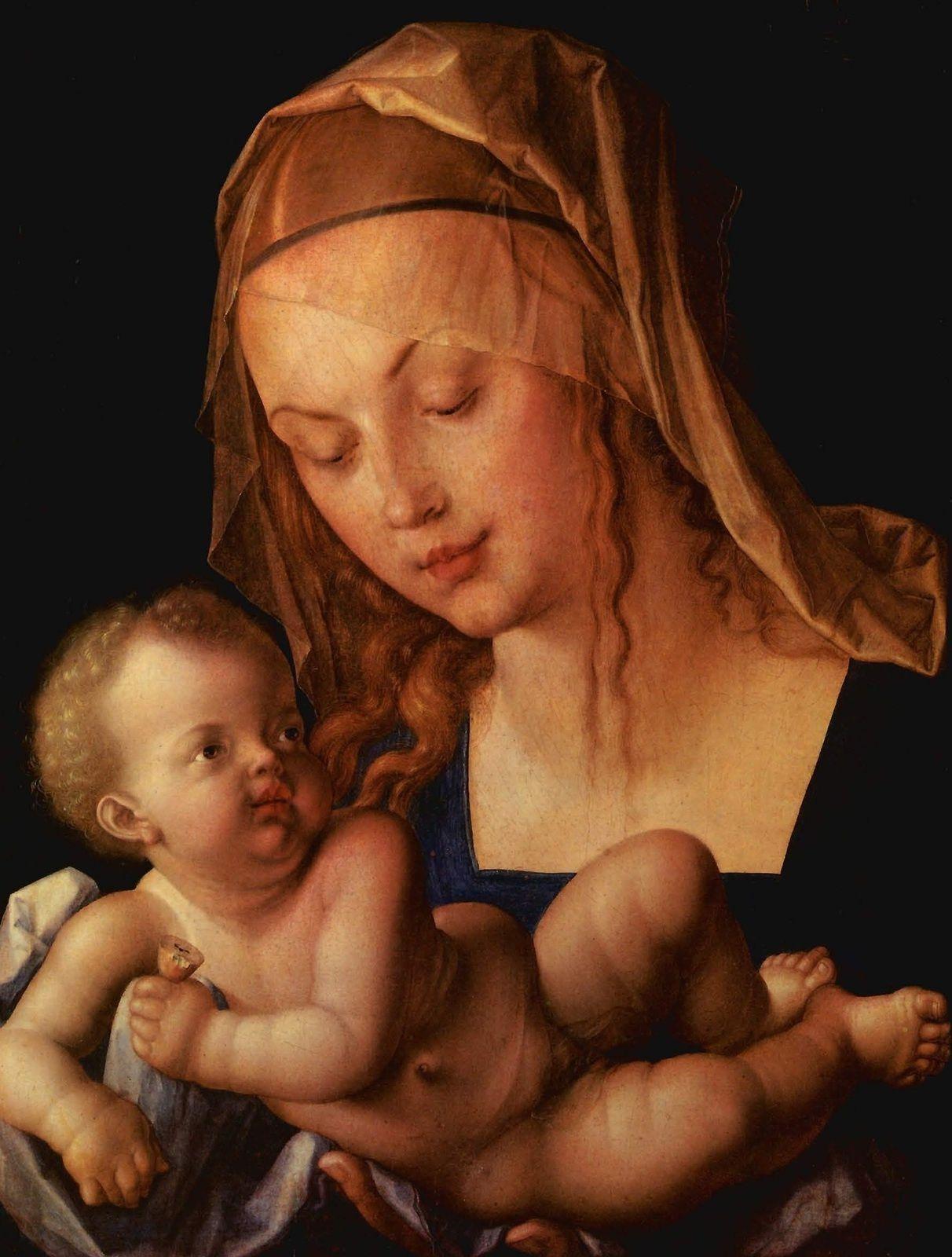 DYADE (toujours nécessaire, impériale, sécure!) / Vierge à l'enfant, Durer Albrecht