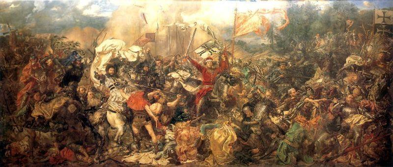 La guerre (Jean Matejko, 1878)= l'absence de SYMBOLIQUE et le triomphe du RÉEL!