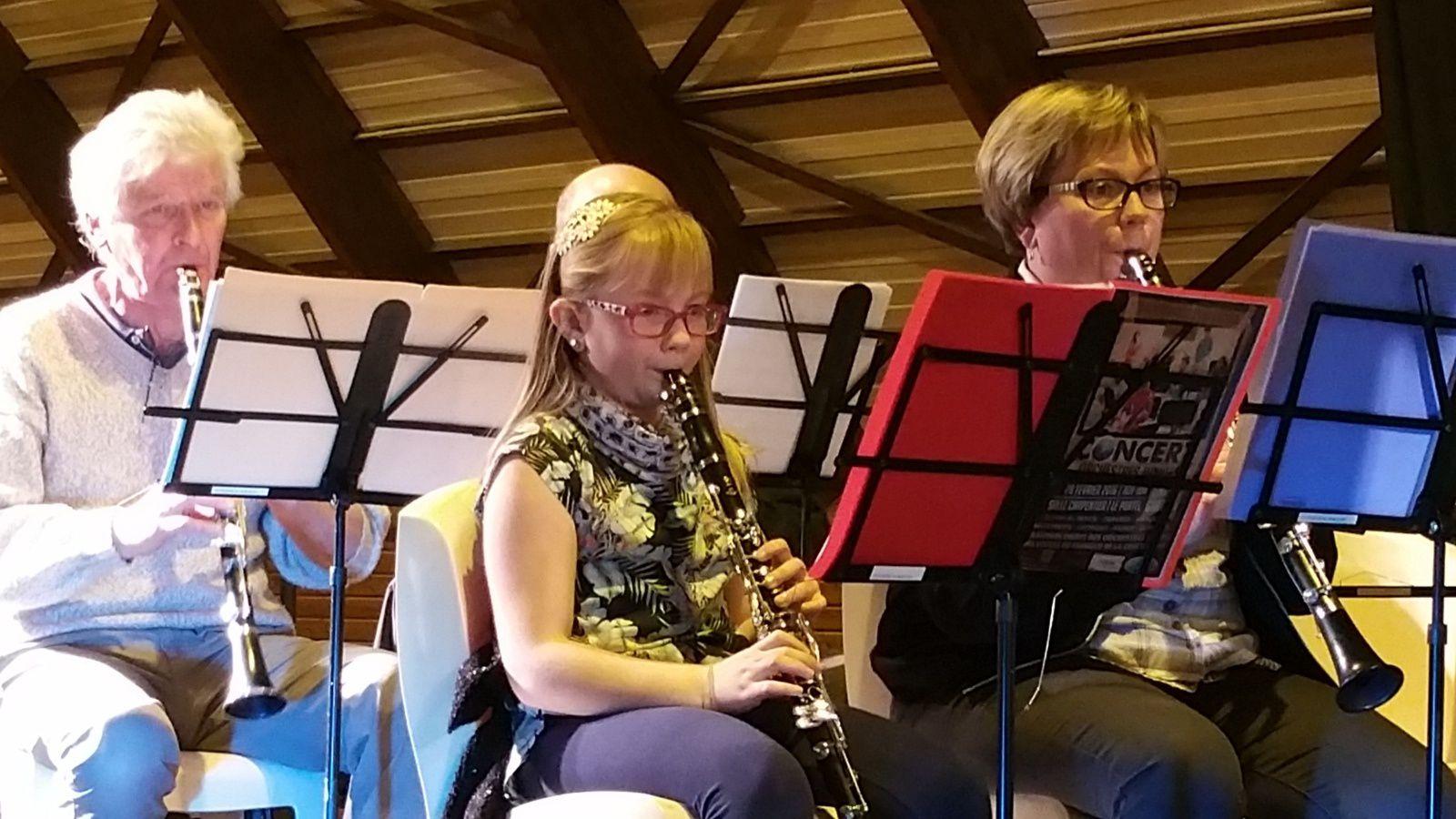 Téléthon 2016, le Classe d'Orchestre toujours présente !!!!