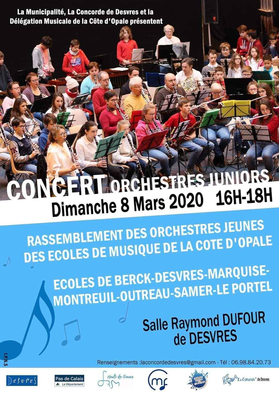 Rassemblement des classes d'orchestre de la délégation 2020