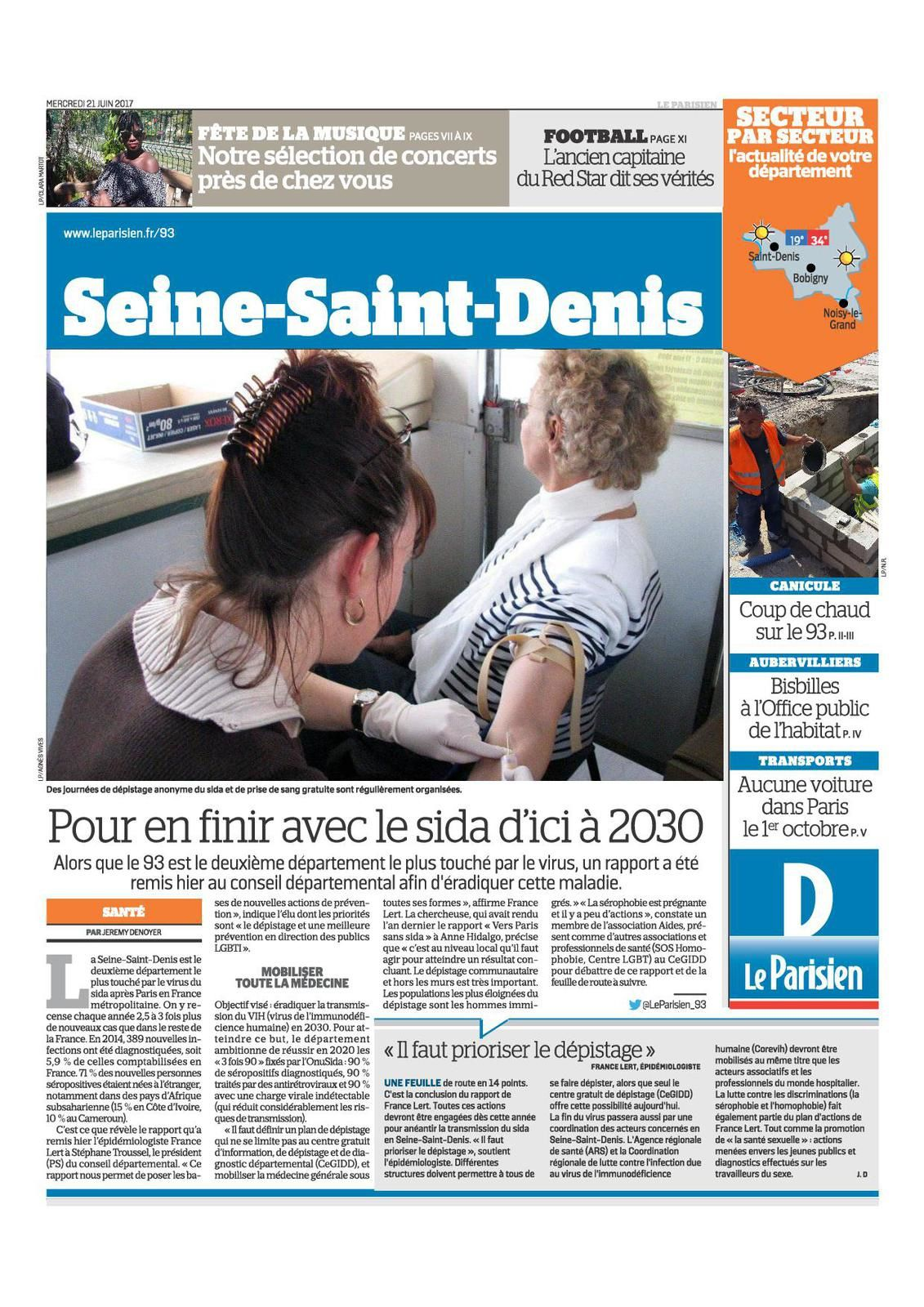 Vers une Seine-Saint-Denis sans Sida !