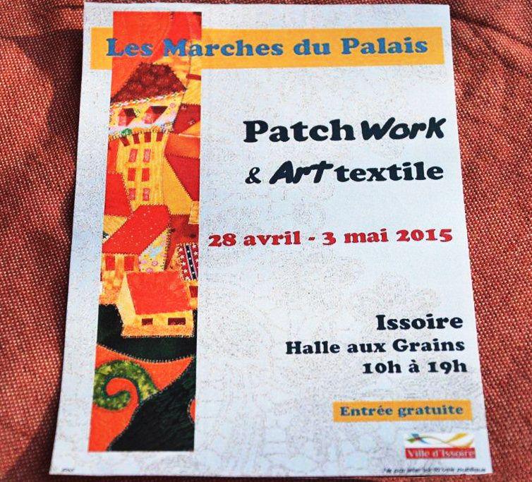 Annonce de l'expo patch d'Issoire