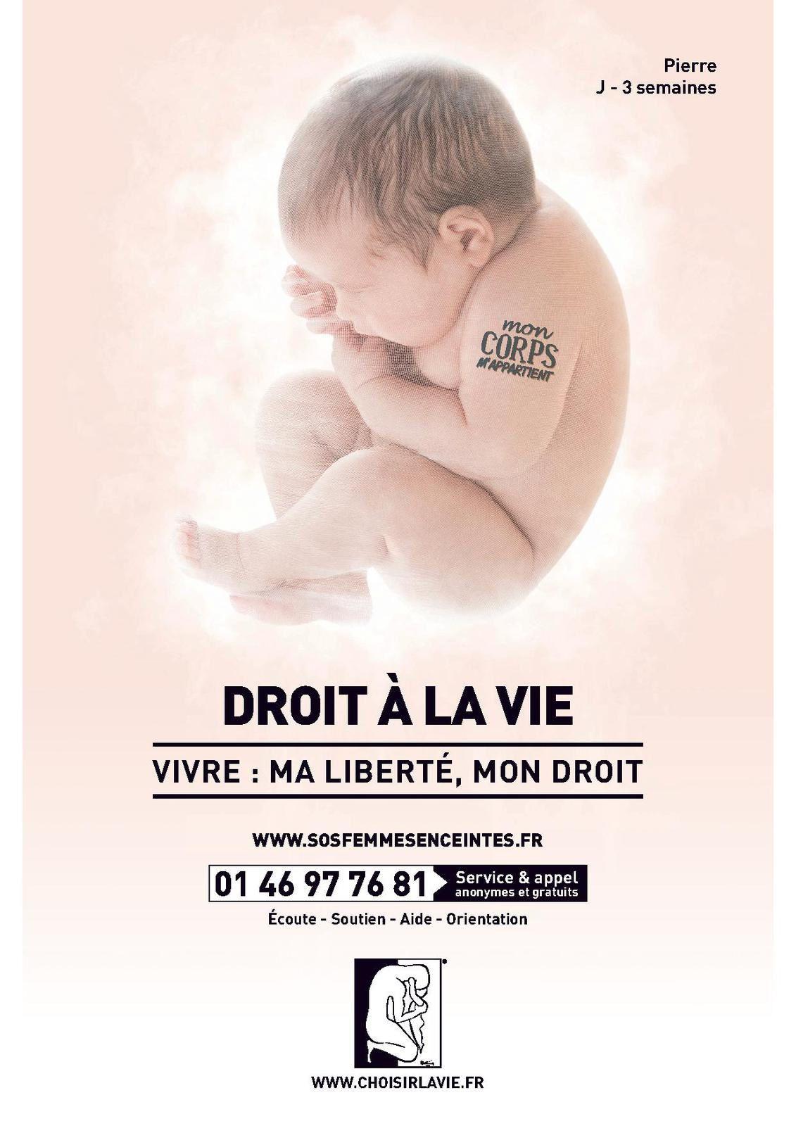 Avortement : la contre-campagne