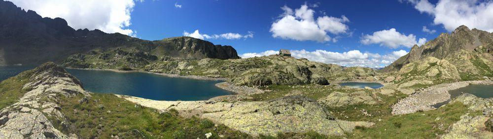 Cimes et lacs de Haute Tinée dans le parc du Mercantour