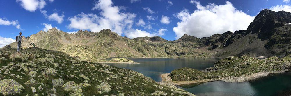 Le lac et le refuge de Rabuons