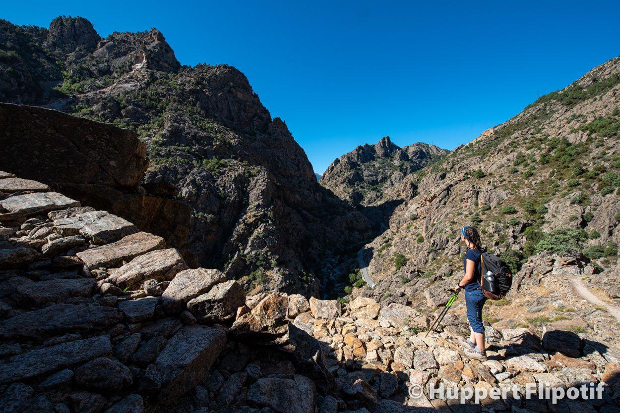Sentier de Scala di Santa Regina Haute Corse