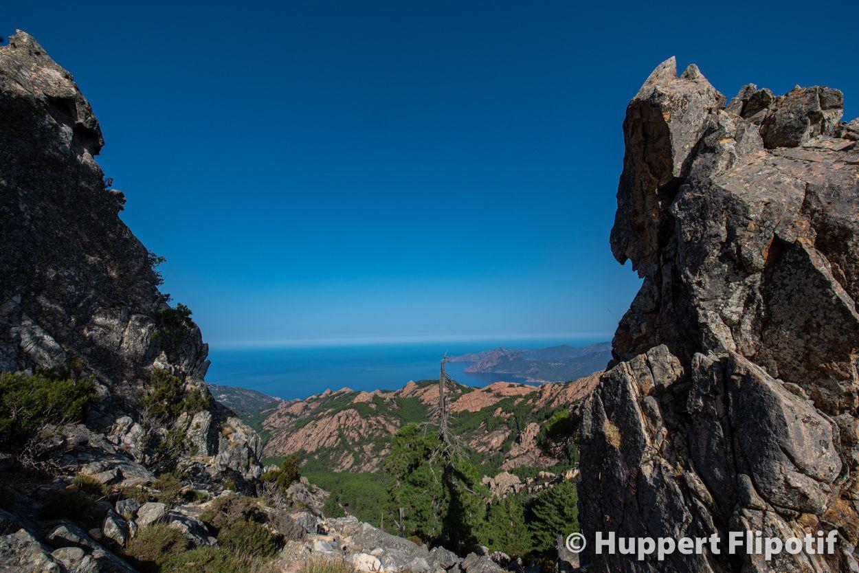 Ascension du Capu di u Vitullu par la foce d'Ortu. Magnifique belvédère
