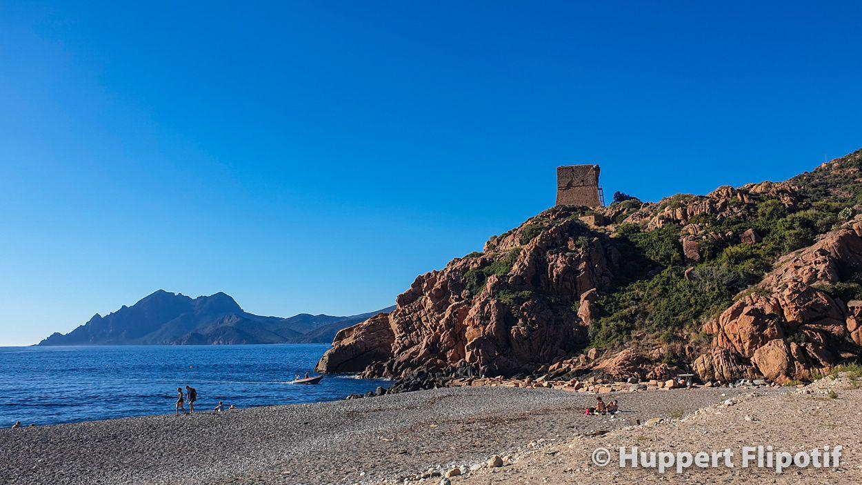Plage Marine de Porto Ota Corse