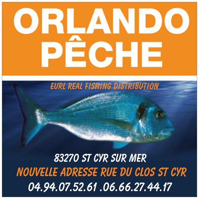 nouvelle adresse Orlando pêche a st cyr sur mer