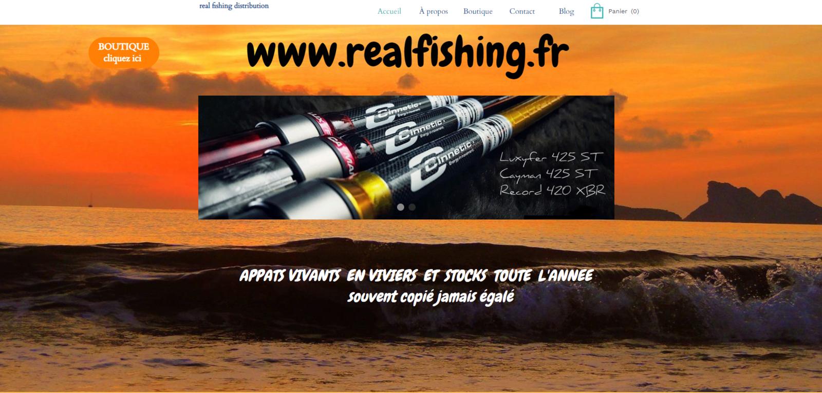 notre deuxième site  www.realfishing.fr