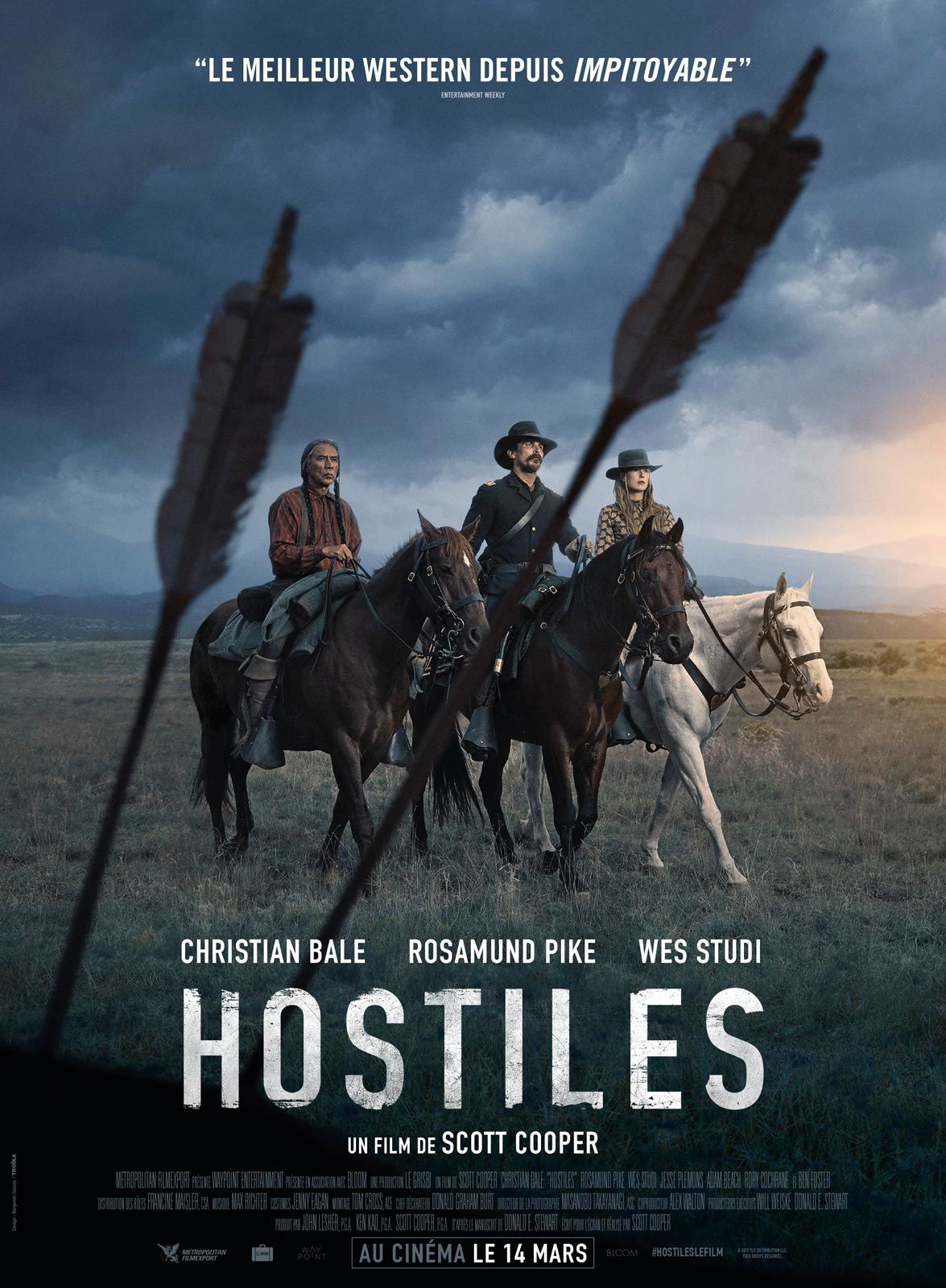 HOSTILES - la critique