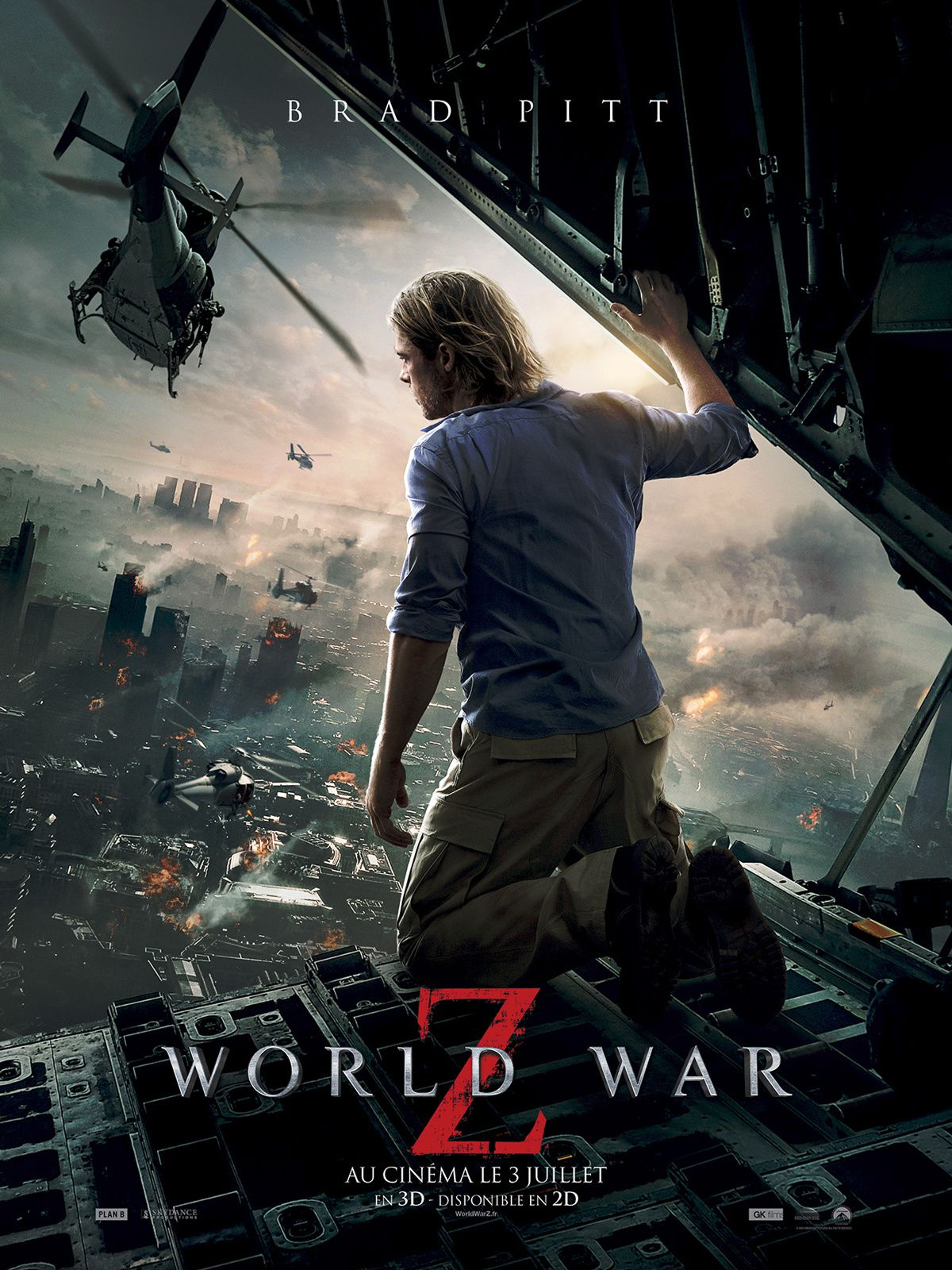 WORLD WAR Z - la critique