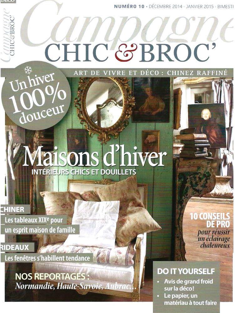 Campagne chic & broc décembre janvier 2015