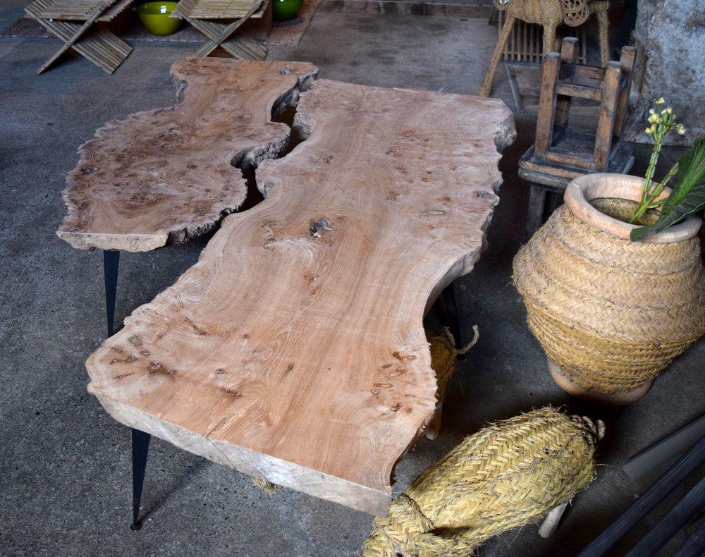 Fabrication et matériaux français pour ces créations originales de coffetable