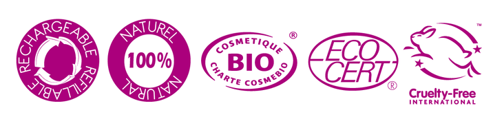 bio naturel sans cruauté animale rechargeable qualité ecocert maquillage beauté sain slow cosmétique slow cosmetic