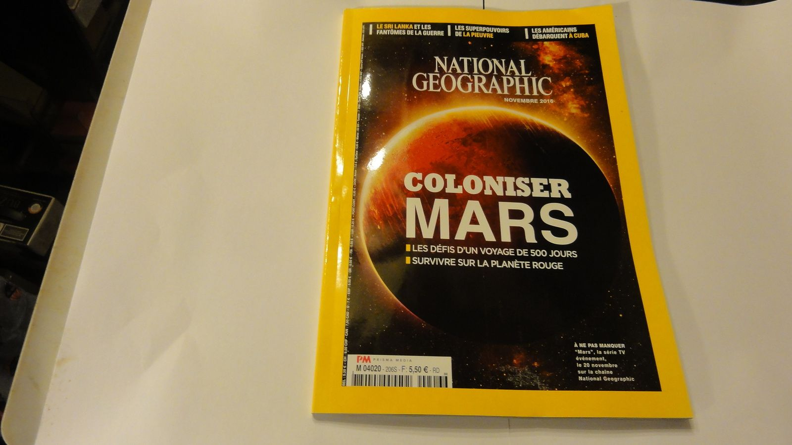Je me suis abonné à National géographic et Géo.
