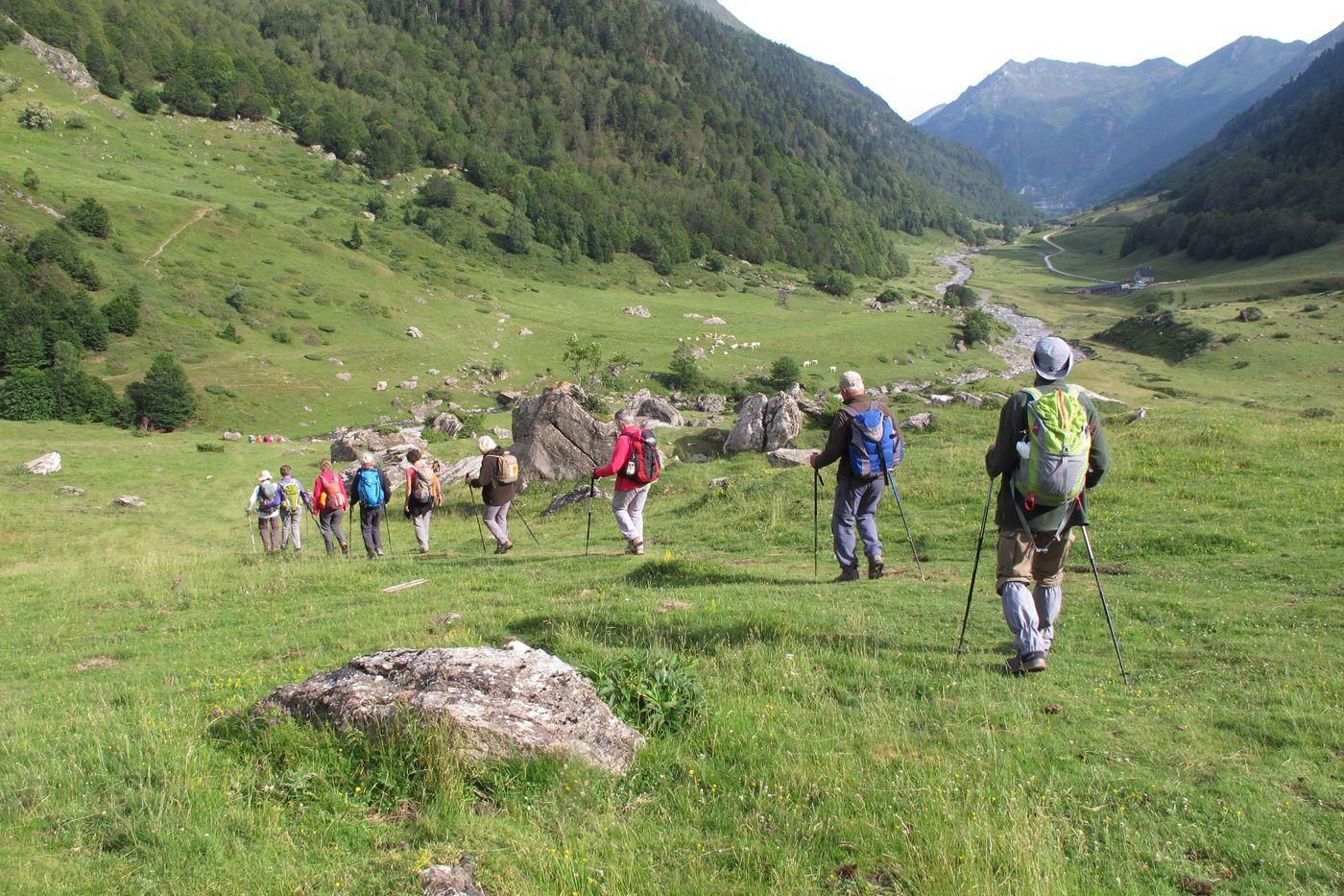 Séjour en vallée d'Ossau - Jour 2, groupe 2