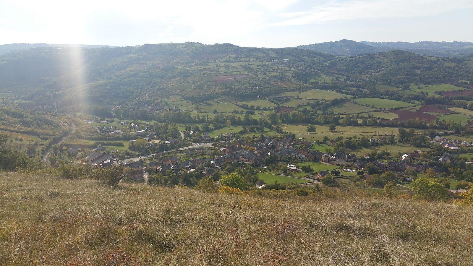 Le village de Valady