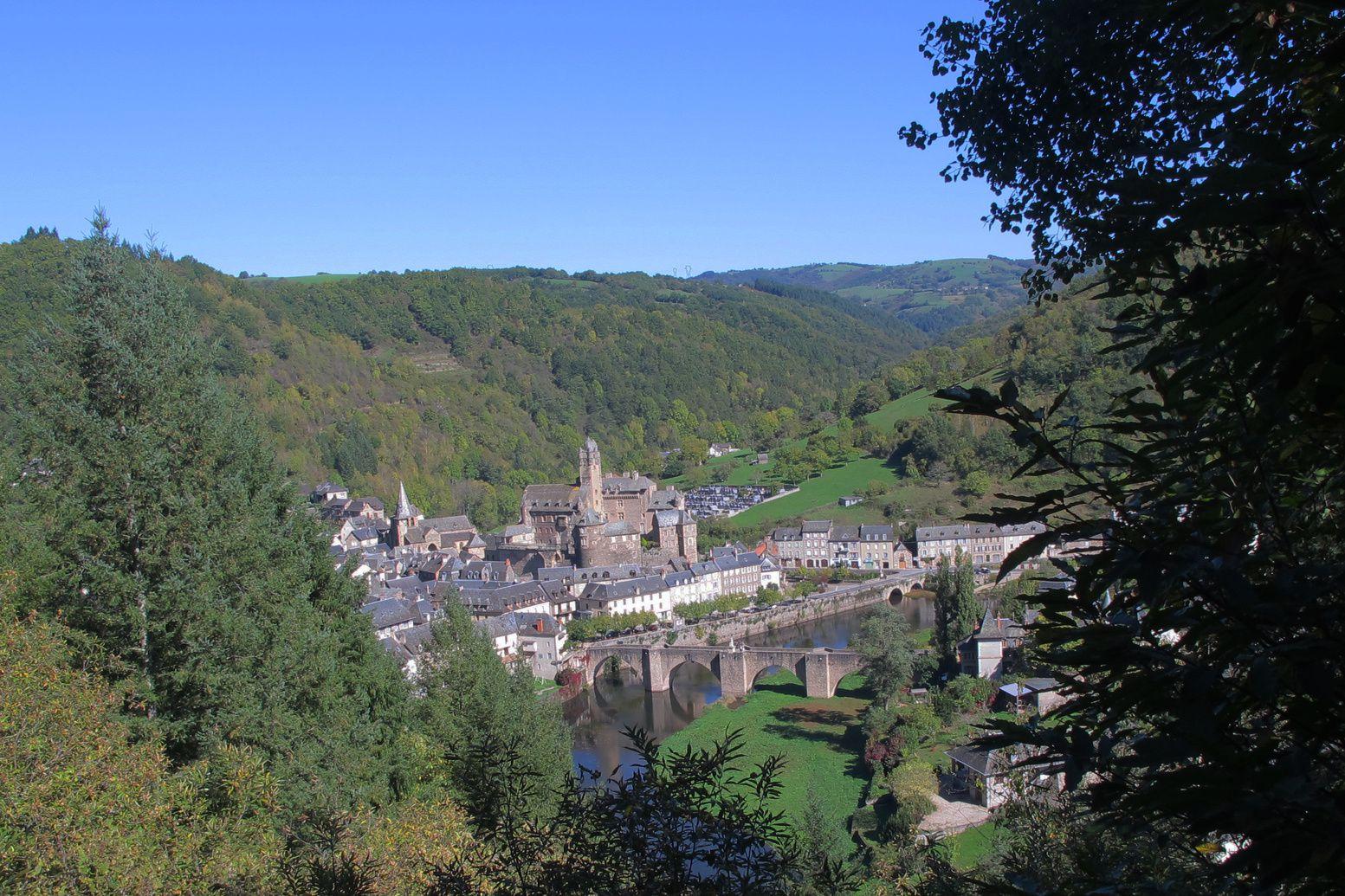 les chapelles et les vignobles d'Estaing