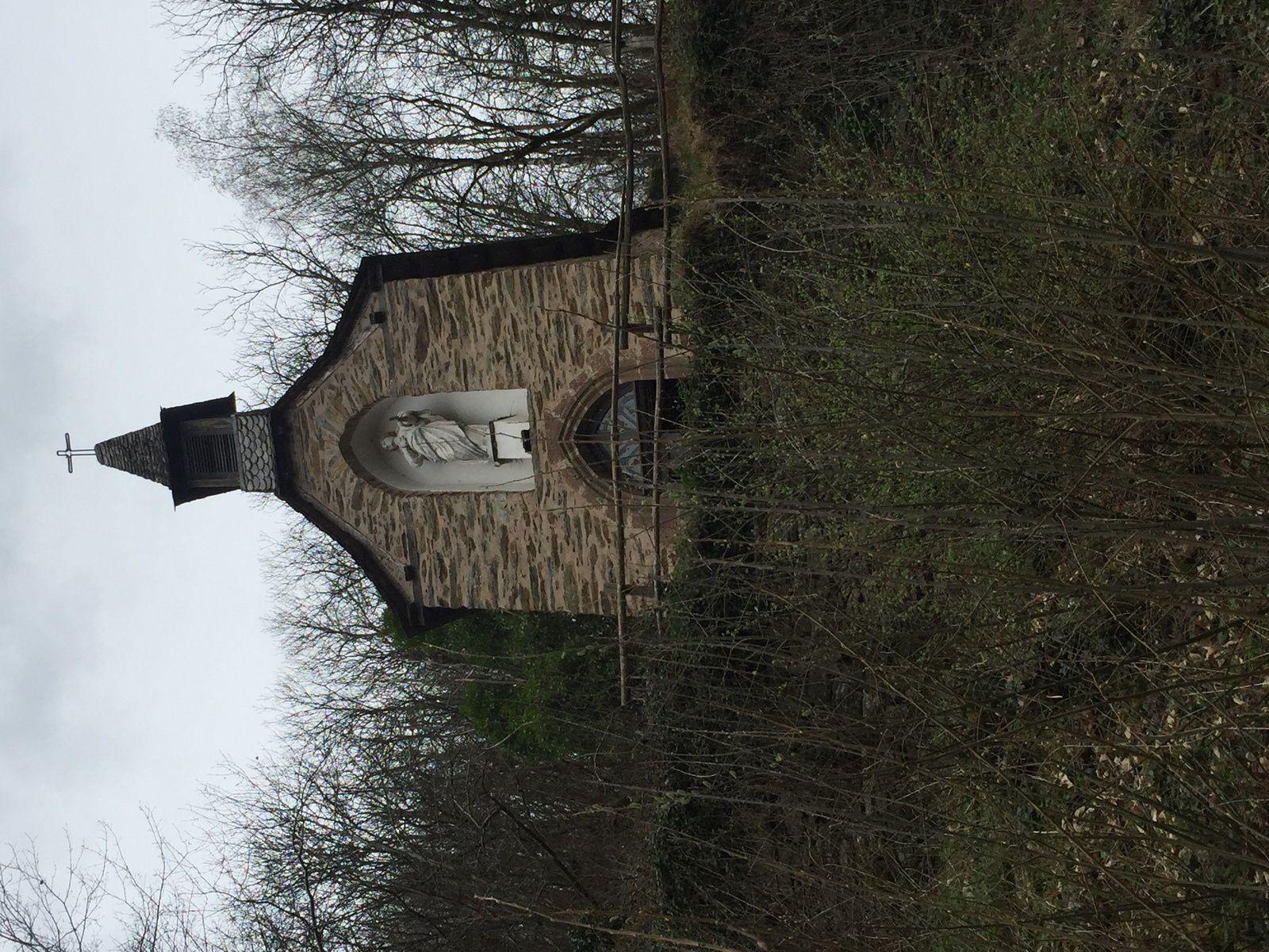 Et La Chapelle Sainte Foy.