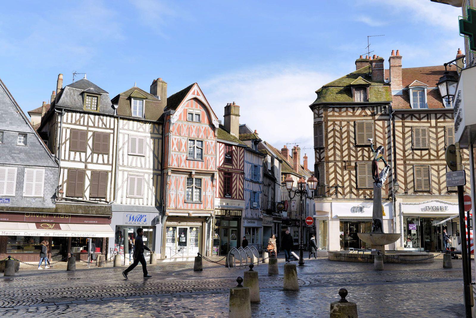 Divers photos rues Auxerre.