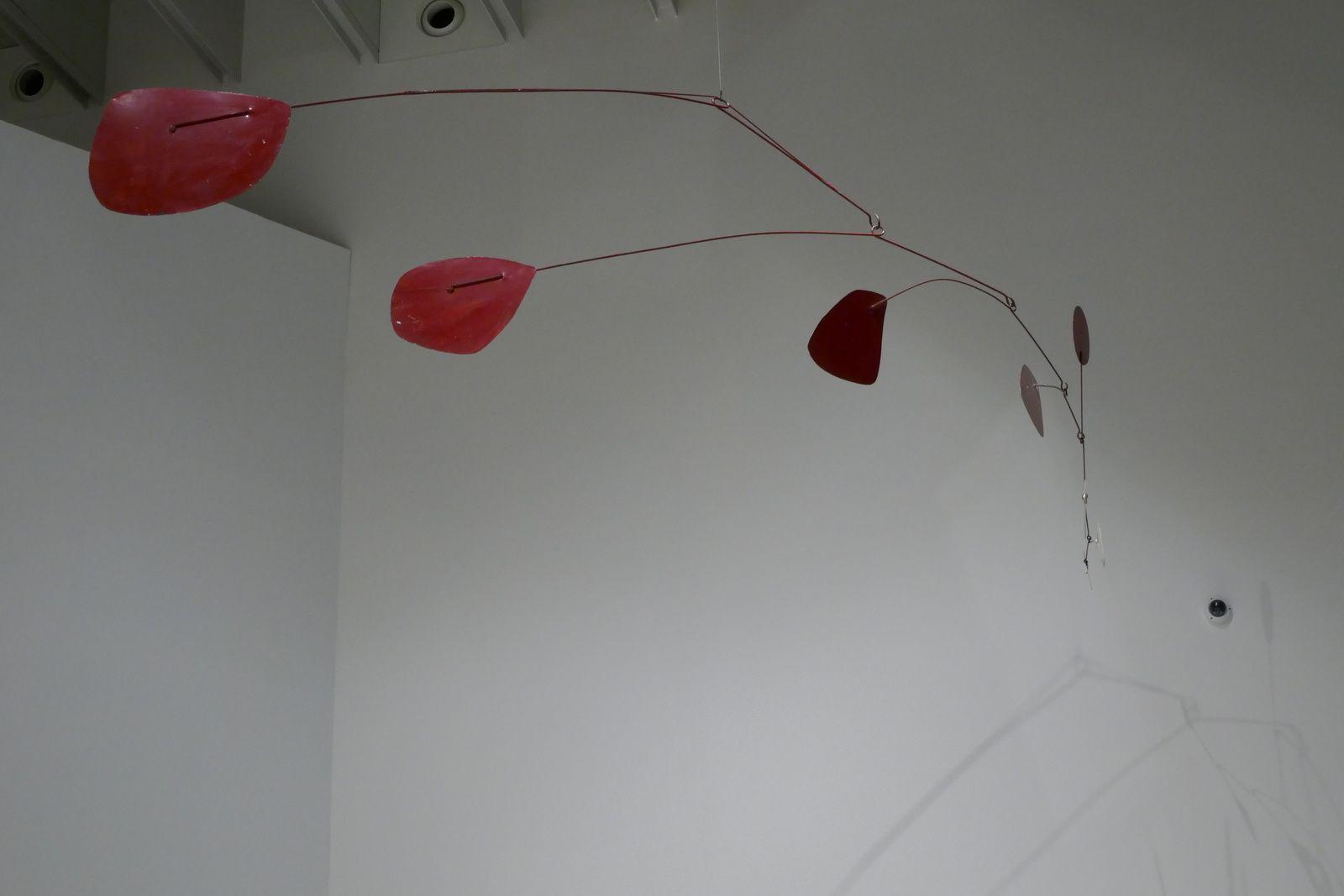 Le 2 Aout 2017 :  Musée Soulages, exposition Calder plus expo permanente Soulages.
