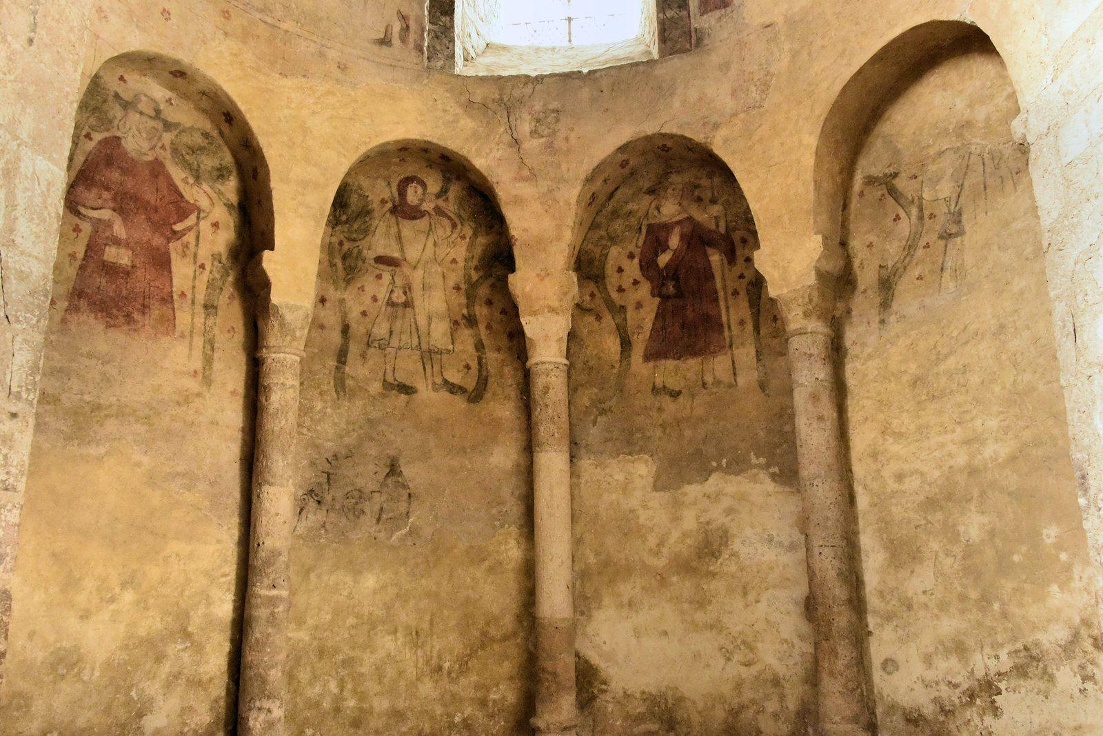 Villeneuve d'Aveyron Le 24/07/2018. Son église romane.