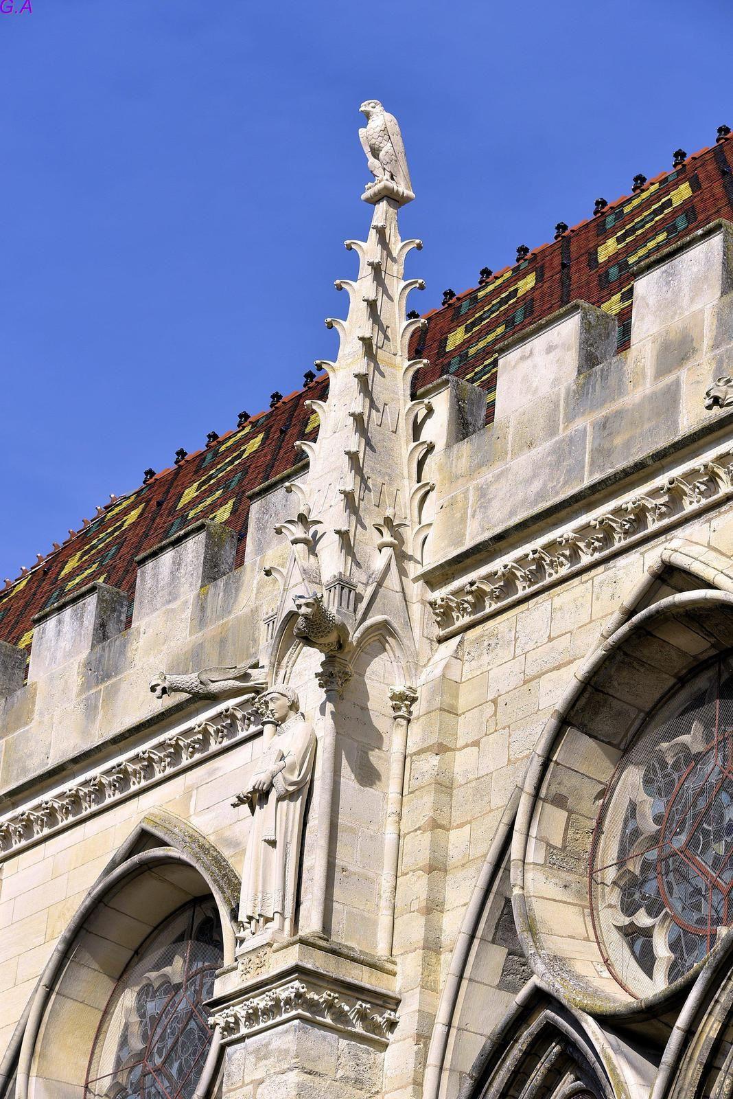 Quelques photos de la Cathédrale St Etienne de Sens. Exterieur.