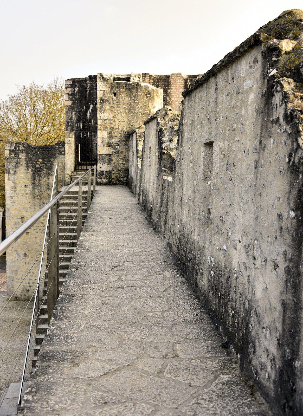 Le 24/03/2019 Balade à la cité médiévale de Provins. (5) Les remparts.