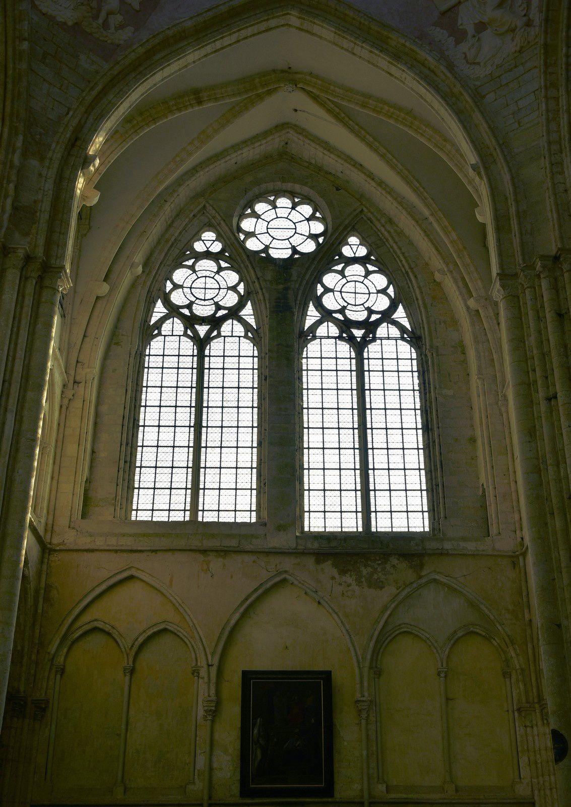 Le 24/03/2019 Balade à la cité médiévale de Provins. (2) La collégiale Saint-Quiriace.