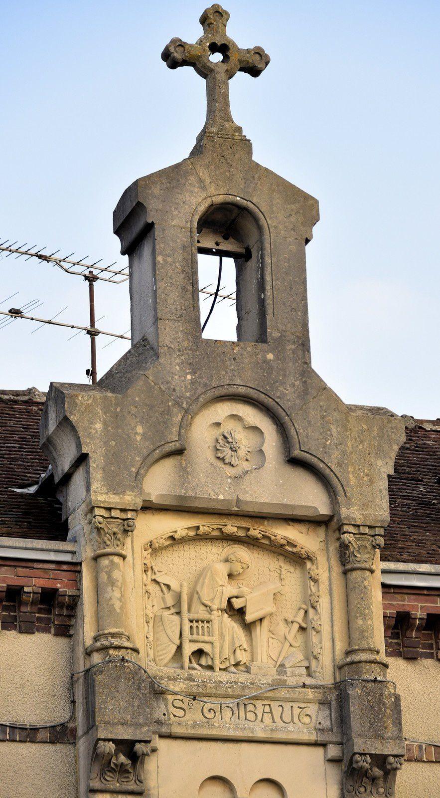 Le 24/03/2019 Balade à la cité médiévale de Provins. (4) Saint-Thibaut. La maison des orphelines