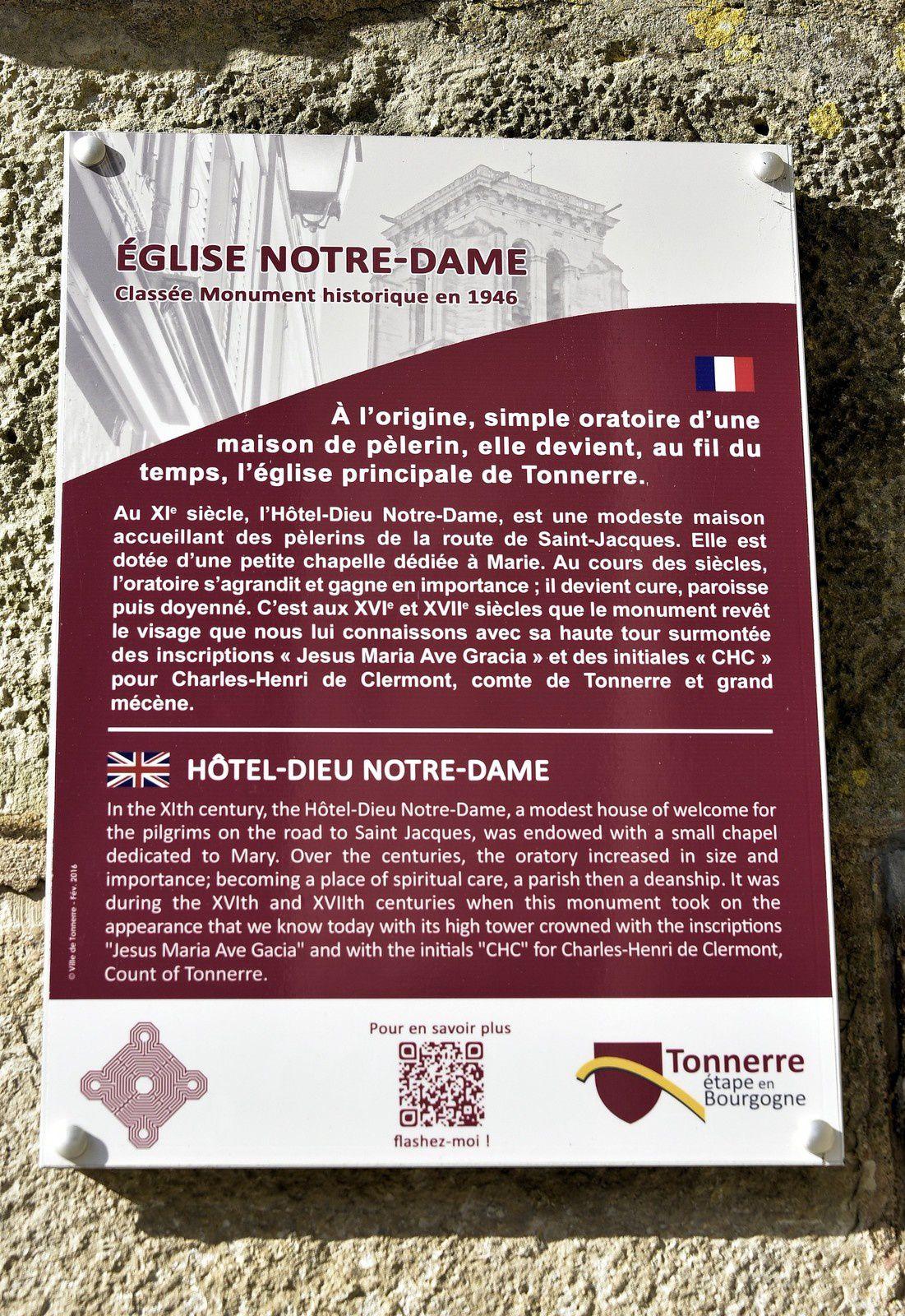 """La ville de Tonnerre, un """"Badaudage"""""""