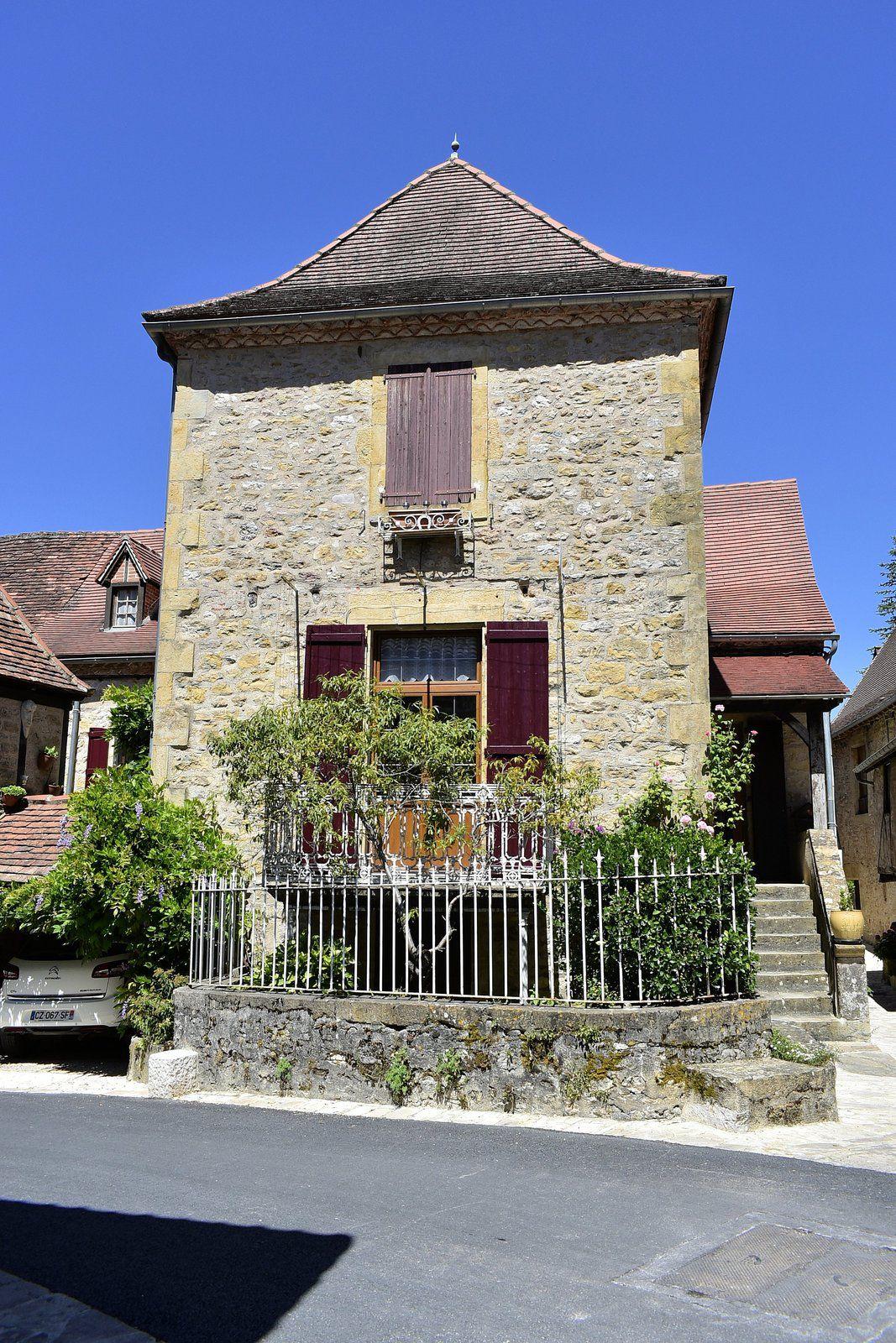 Autoire  département du Lot en région Occitanie.