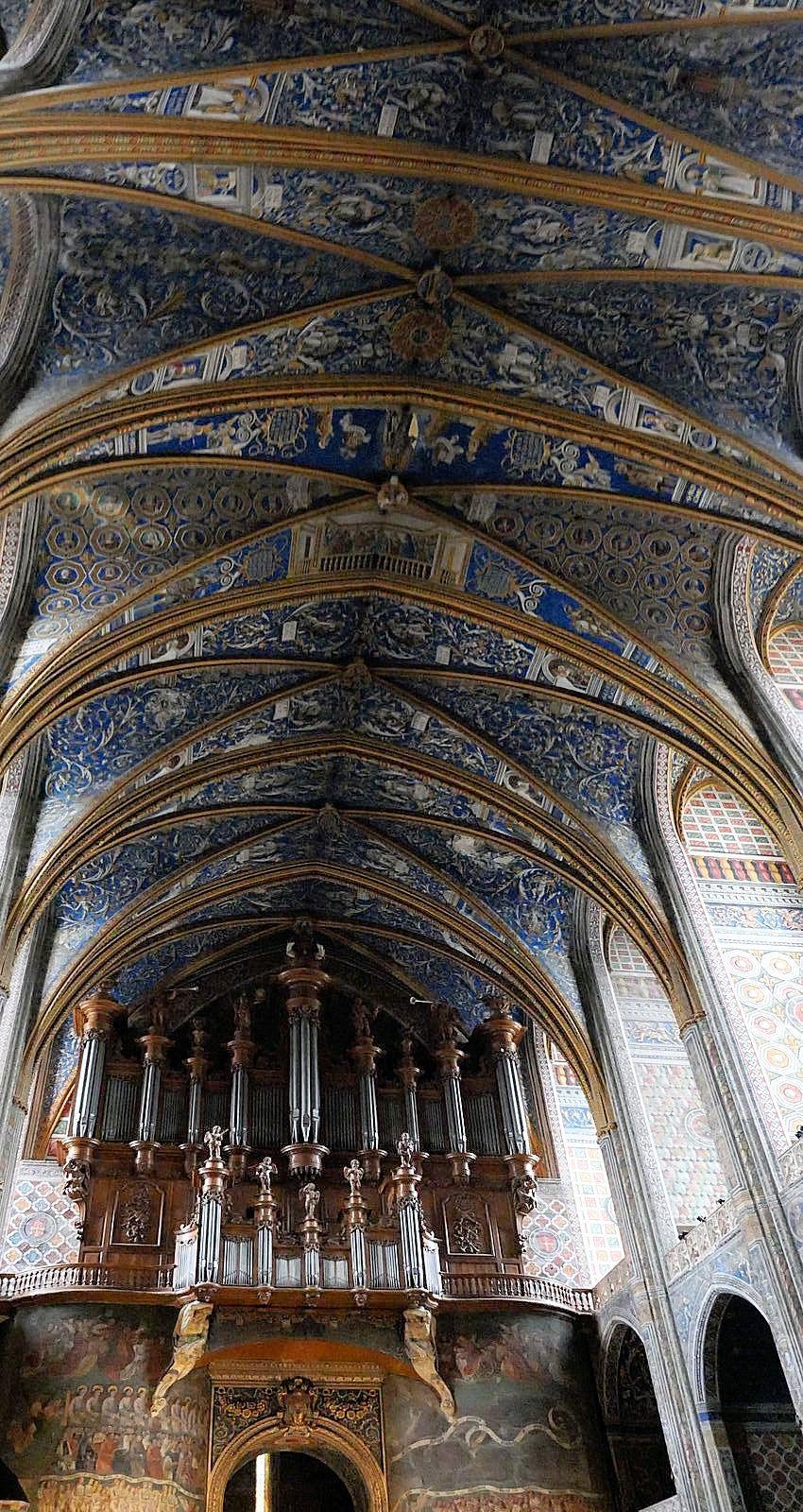 Le 01 Aout:  Albi Musée Toulouse Lautrec le palais de la Berbie.