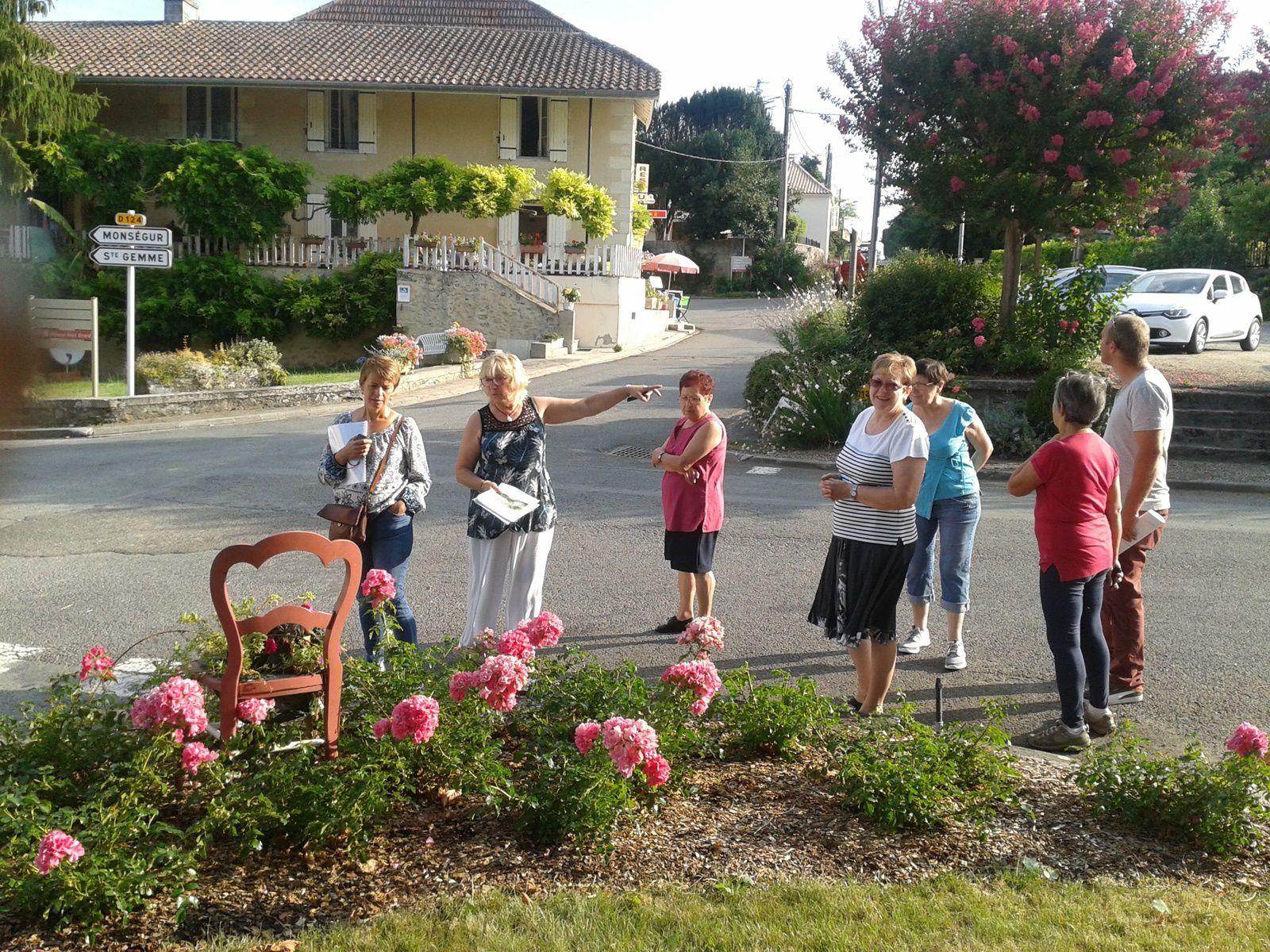2018 07 11 - concours régional des villages fleuris à Saint-Vivien-de-Monségur