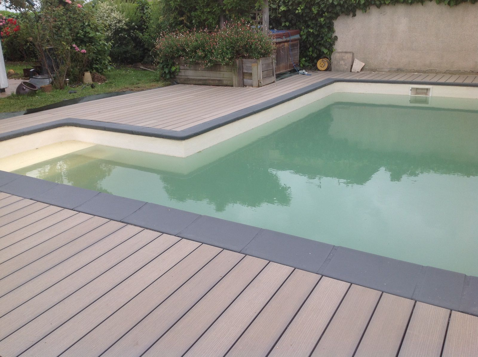 TERRASSES COMPOSITES = QUELQUES CREATIONS 2016 Le blog de atpv infos over blog com # Margelle Piscine Bois Composite