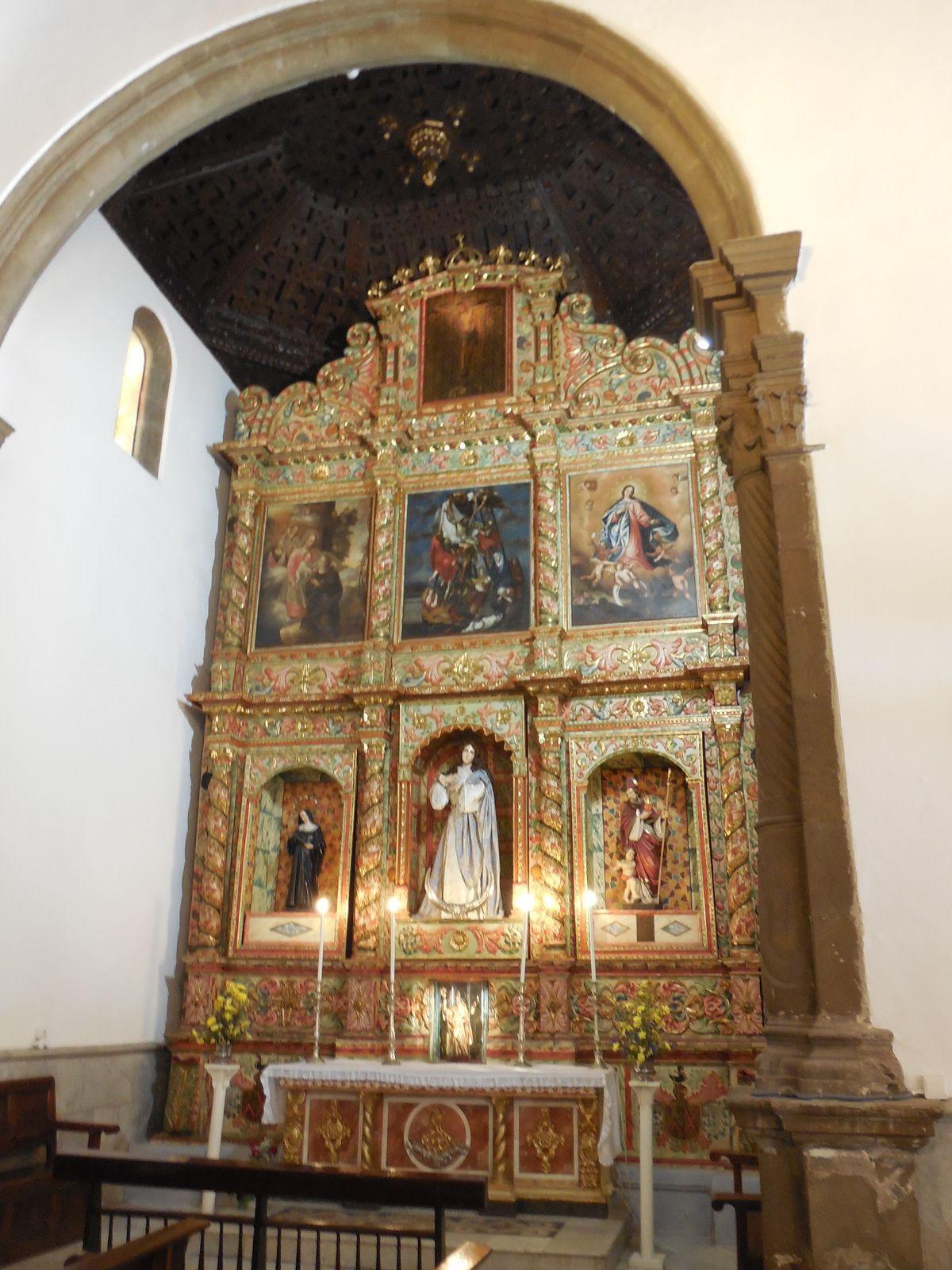 Eglise reconnue surtout pour ses deux icônes sacrées ainsi que pour ses peintures...