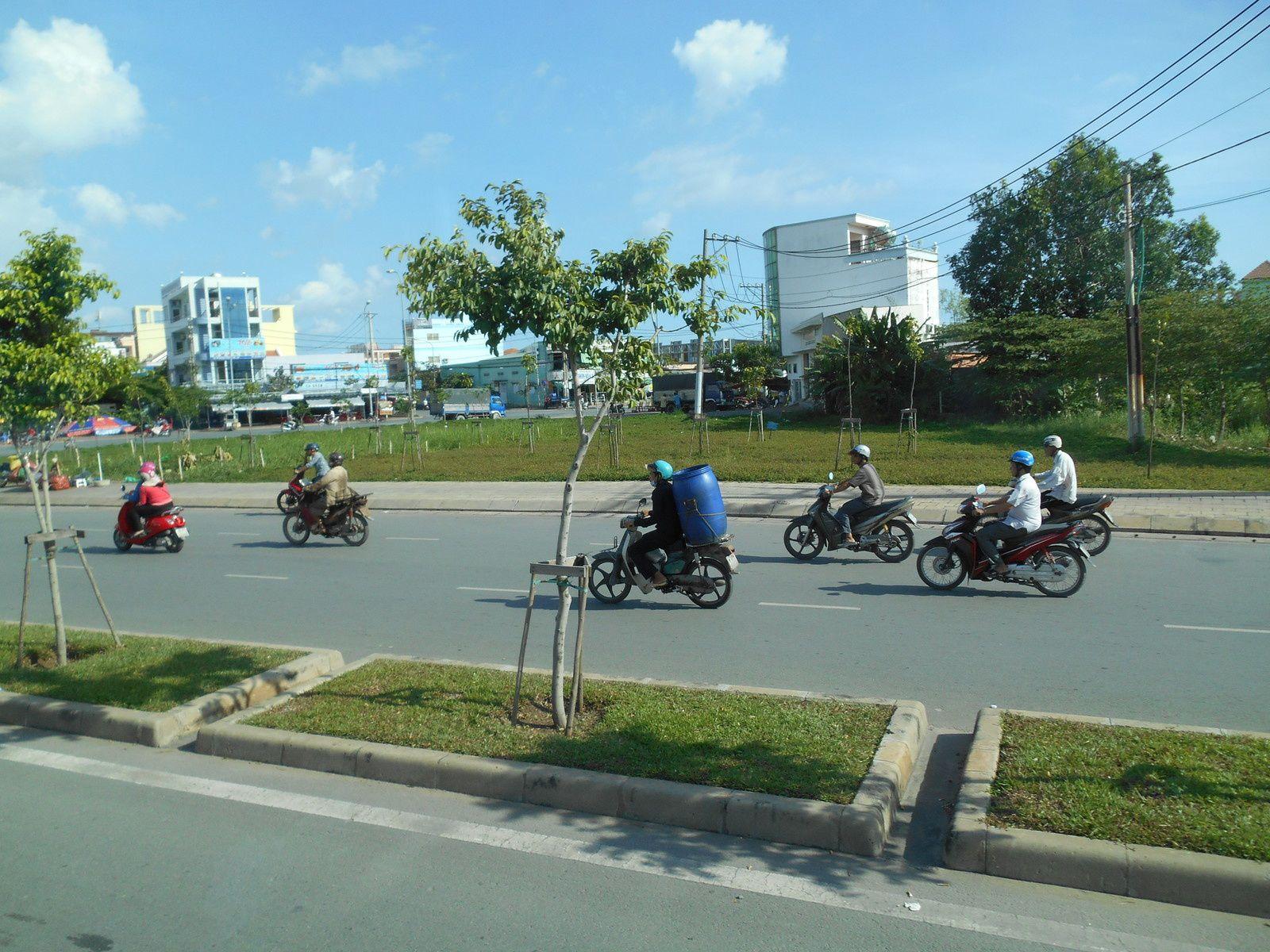 Viet Nam: 3ème jour -Le delta du Mékong et le marché flottant de Caï Rang