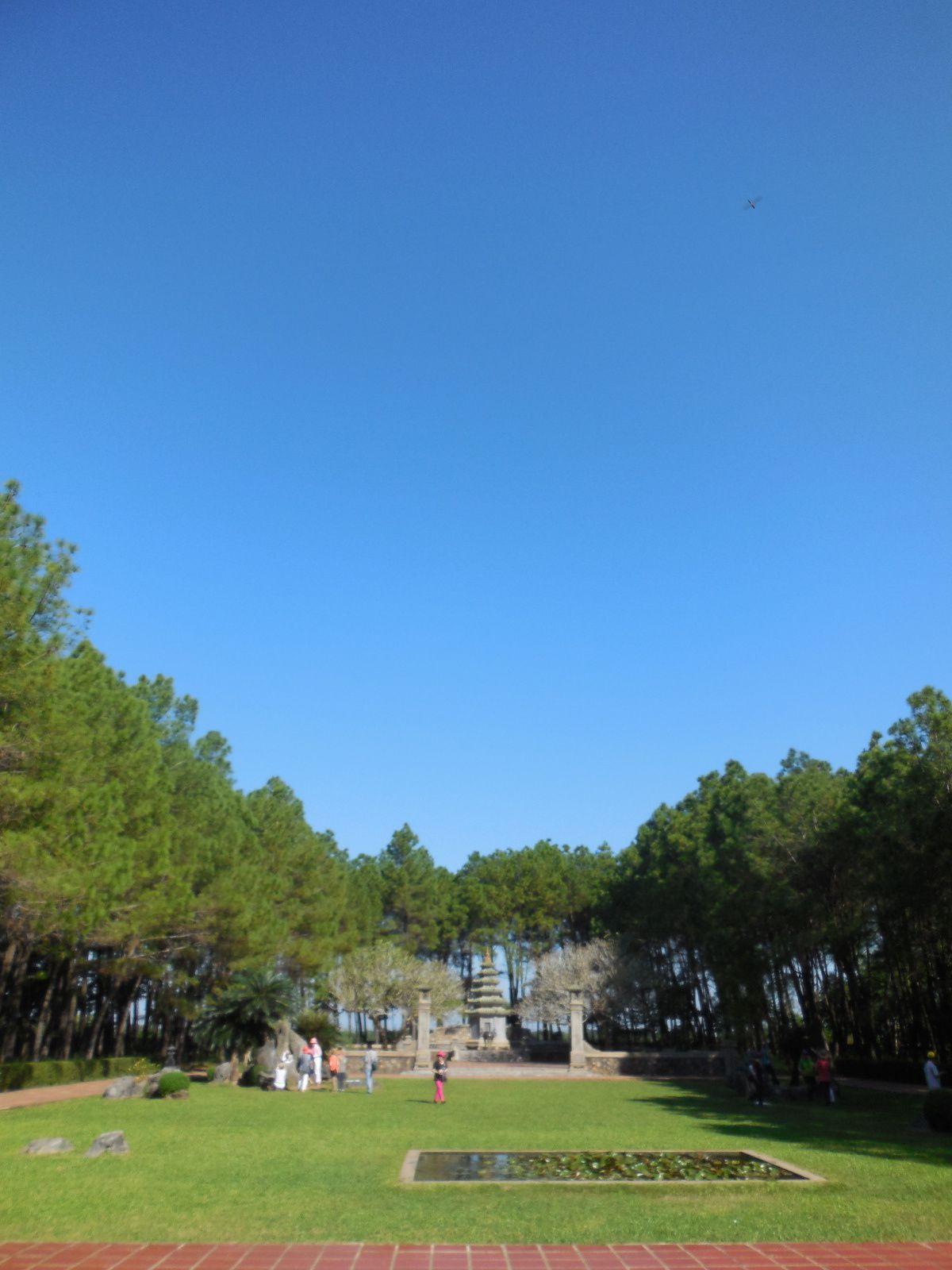 Le parc...