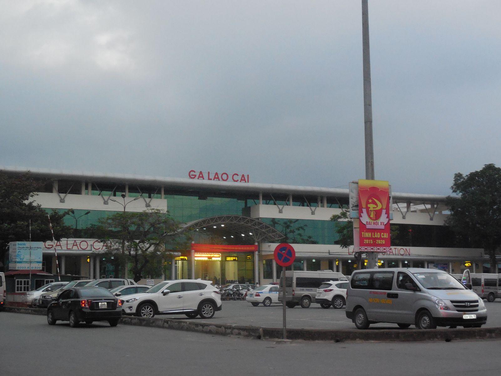 Gare de Lao Cai.