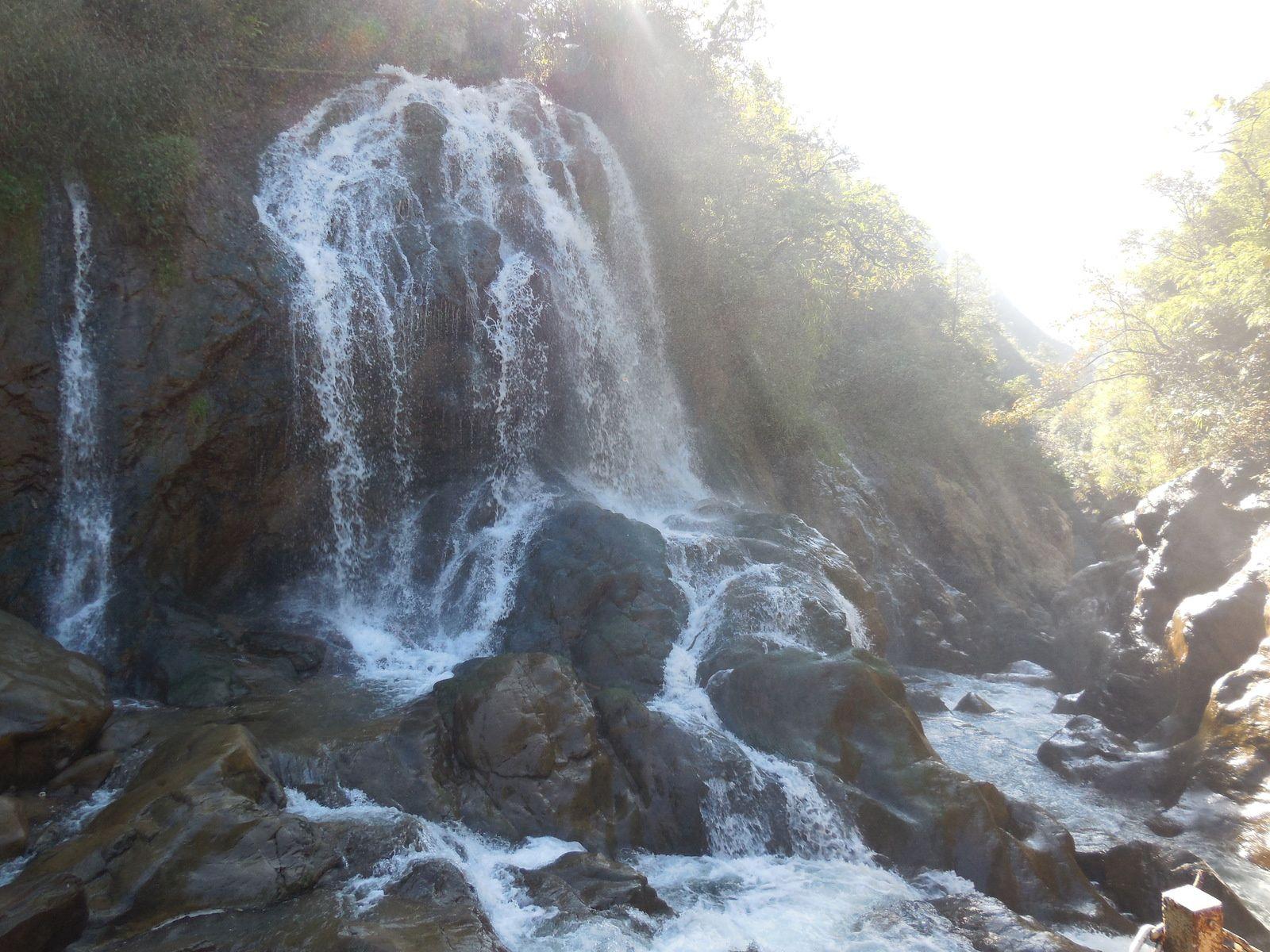 Le village de Cat Cat doit son nom à la proximité de cette cascade.