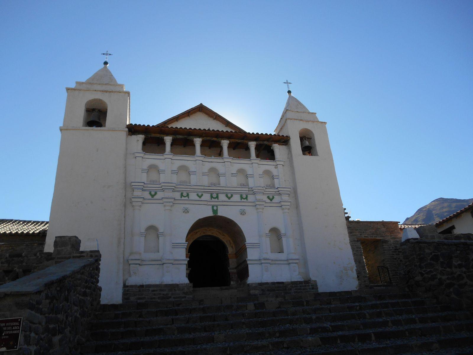 Eglise du village construite au XVIIème siècle...