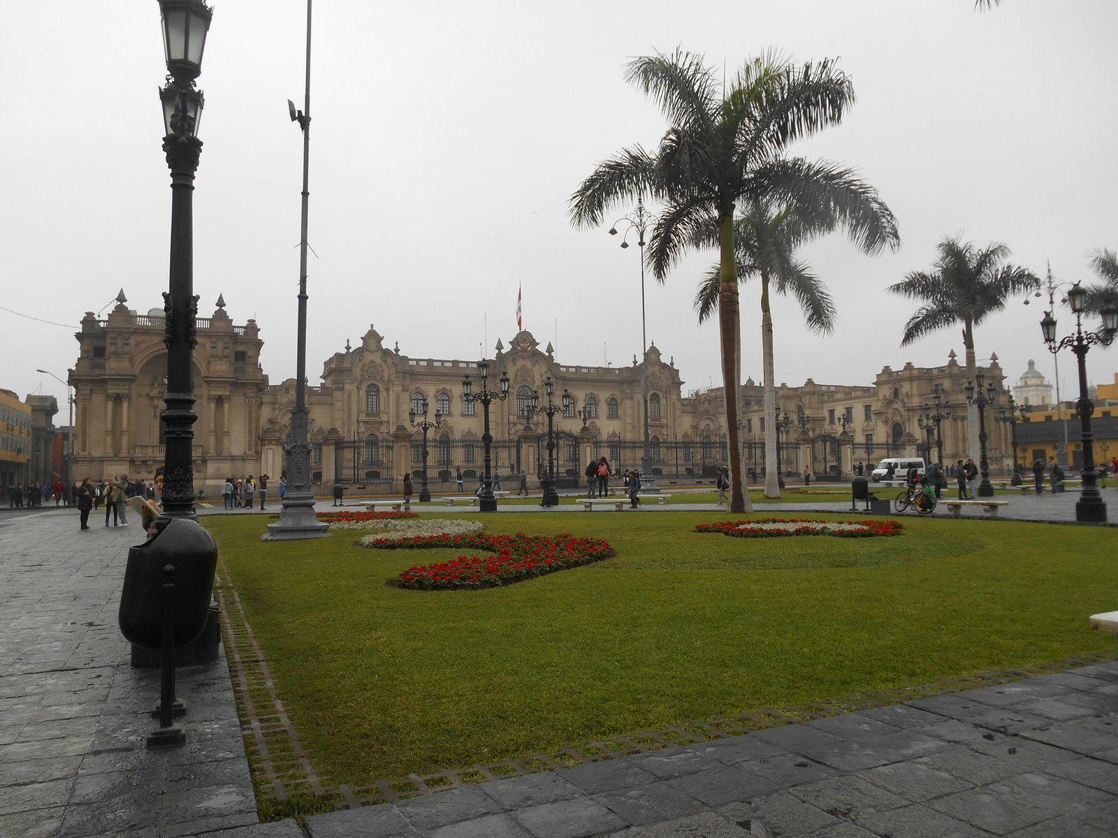 Le palacio de Gobierno,...