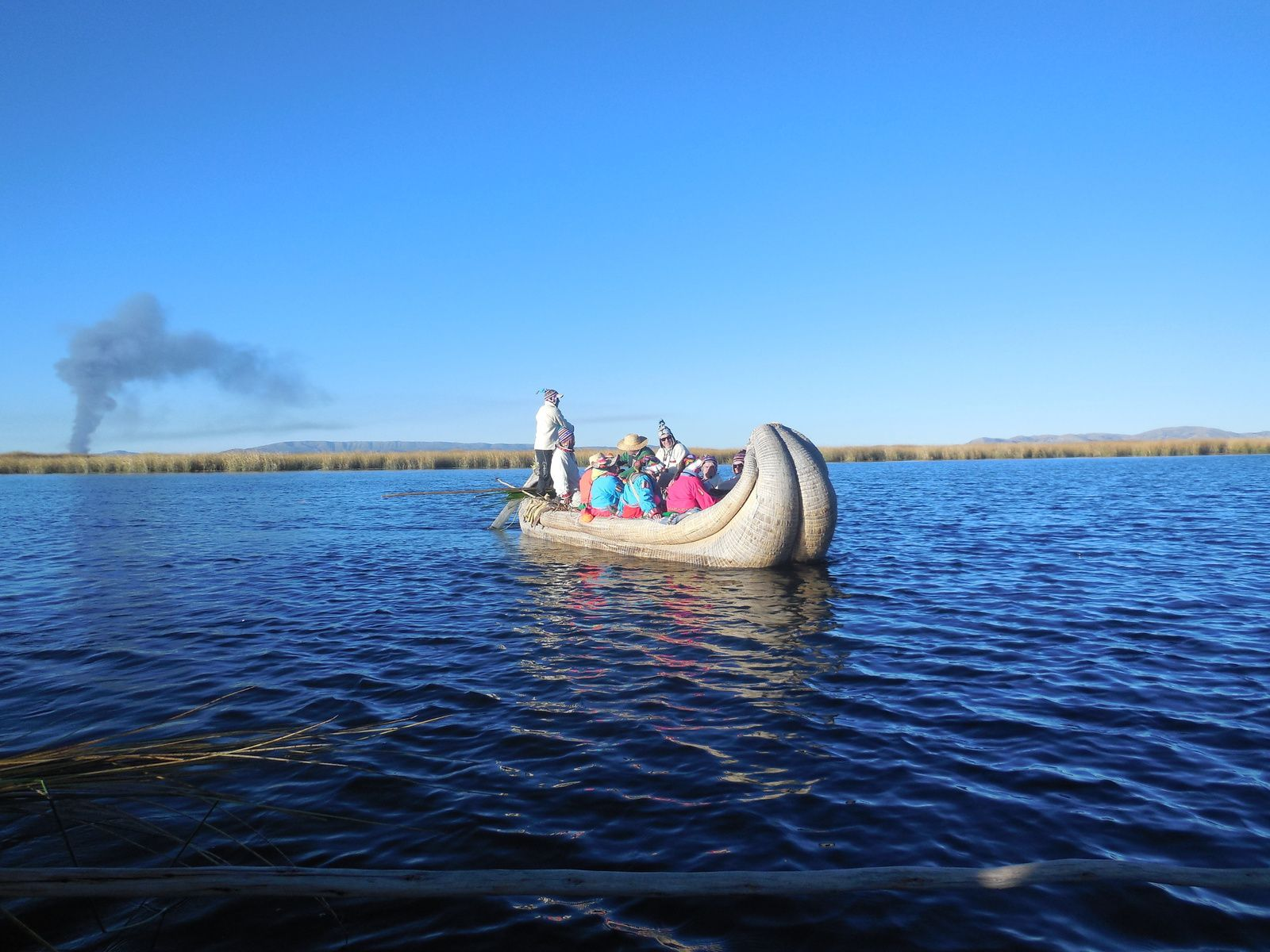 Jour 6: Les îles Amantani et Uros ( Lac Titicaca ) -2ème partie-